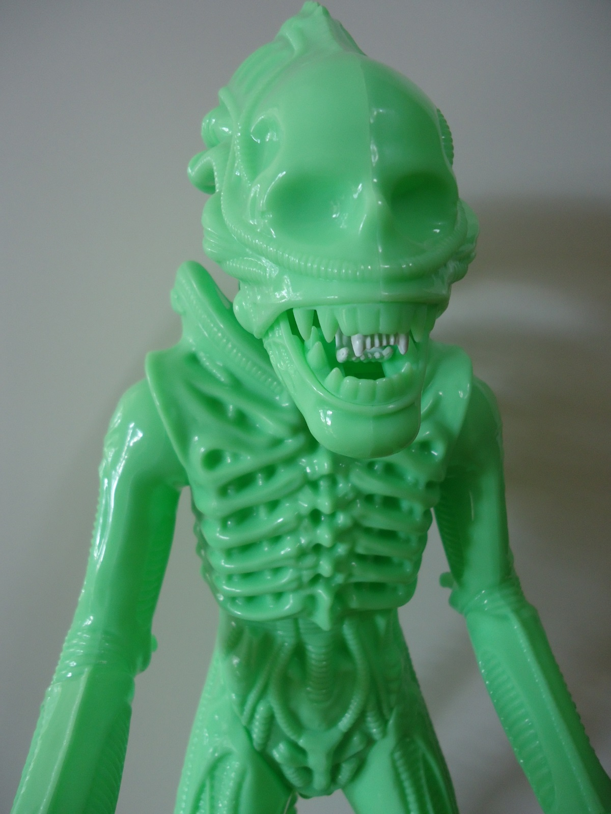24 inch tall Gentle Giant glow in the dark ALIEN action figure without carapace.