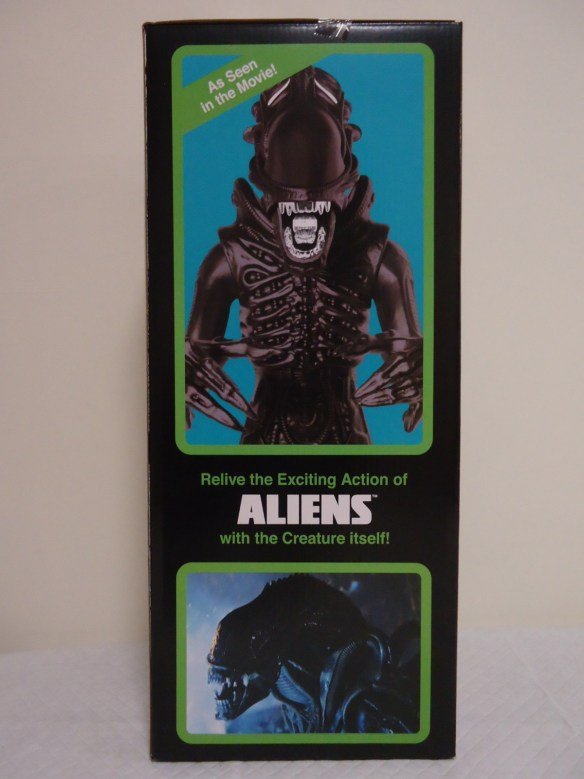 Left Hand Side of the Super 7 1986 'Classic Toy' Edition Box.