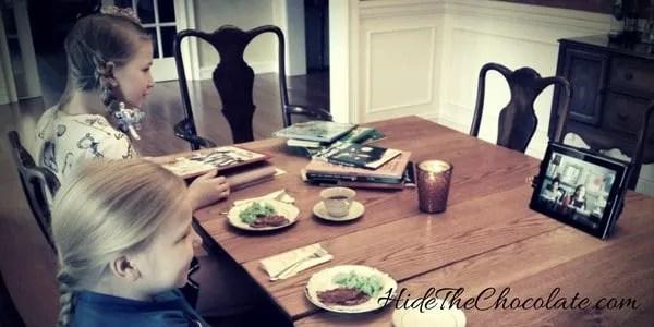 Relaxed Charlotte Mason Dr. Seuss Facetime Teatime