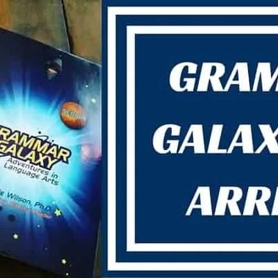 Grammar Galaxy Nebula has arrived!