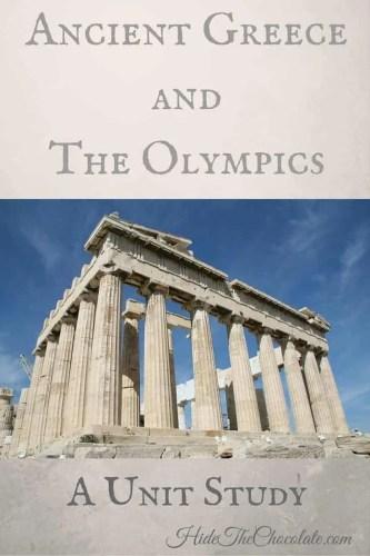 Ancient Greece Unit Study Resources