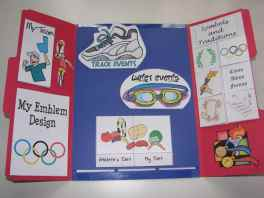 olympics lapbook