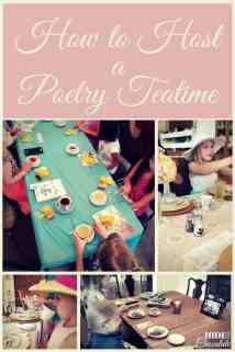 How to Host a Poetry Teatime PIN