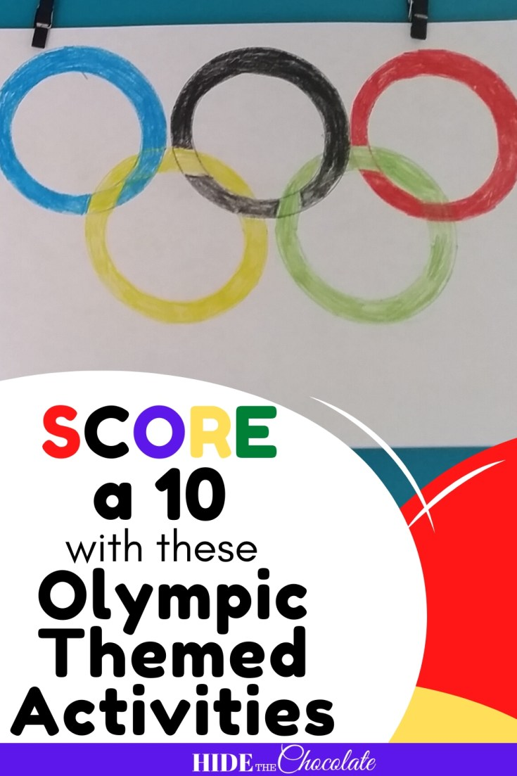 Score a 10 with these Olympic Themed Activities PIN