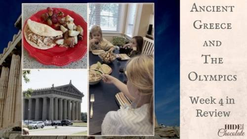 Ancient Greece and The Olympics Unit Study Week 4 in Review