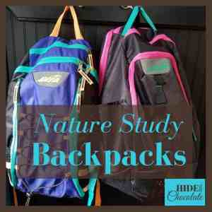 Nature Study Backpacks