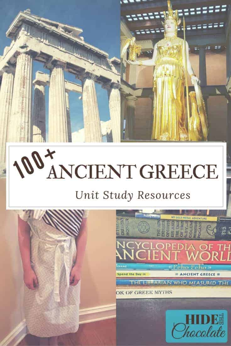 100+ Ancient Greece Unit Study Resources