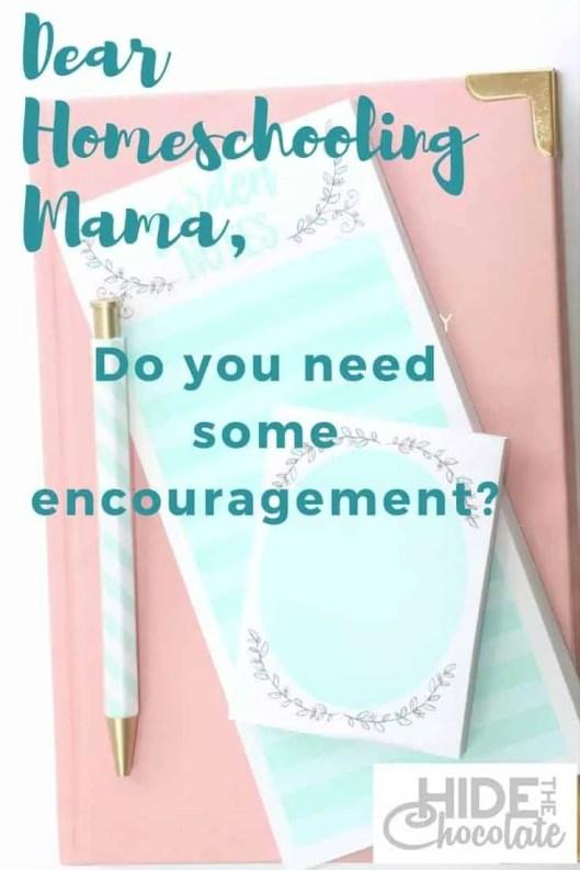 Do you need some homeschooling encouragement