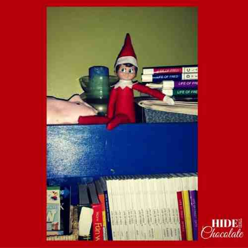 Elf on an Actual Shelf