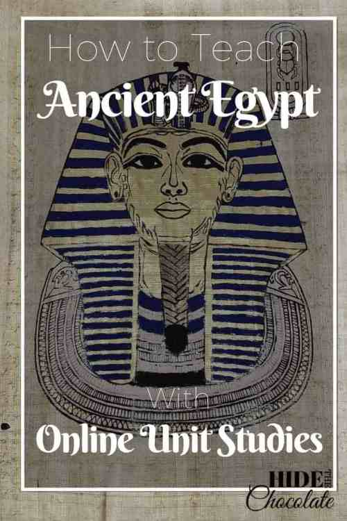 How to Teach Ancient Egypt Online Unit Studies