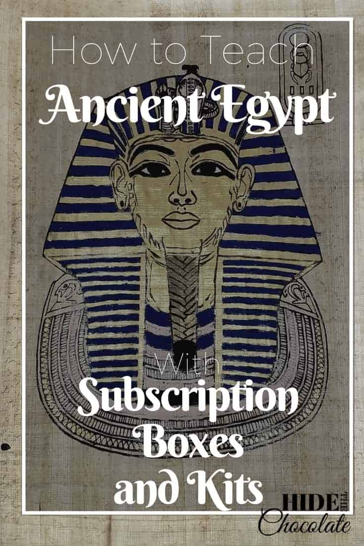 How to Teach Ancient Egypt with Subscription Boxes and Kits