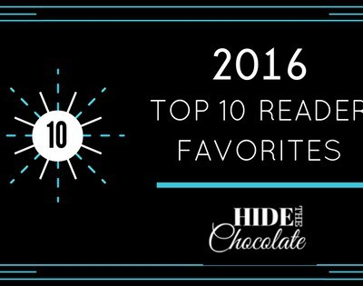 Hide The Chocolate Top 10 Reader Favorites from 2016