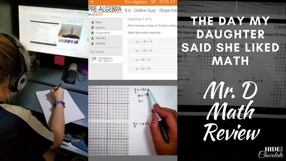 Mr. D Math Review