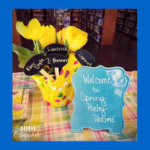 Spring Time Poetry Teatime Welcome