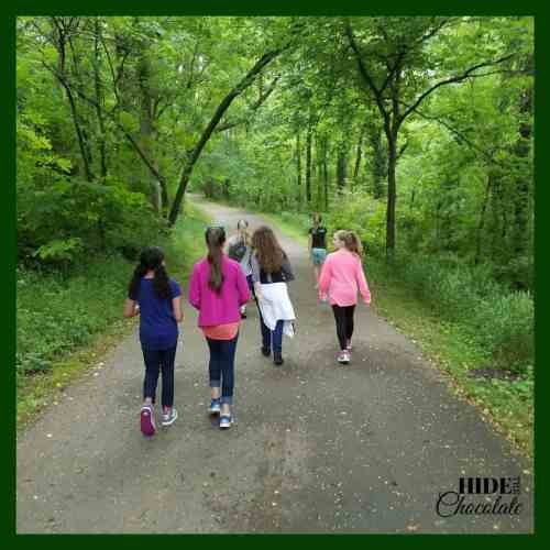 The Green Ember Book Club Hike