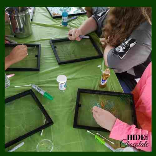The Green Ember Book Club Stained Glass