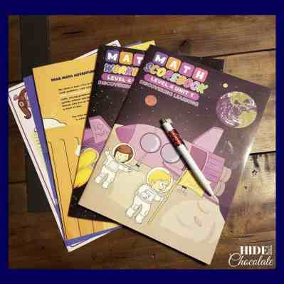 A Discovery Learning Math Subscription Review Box Contents