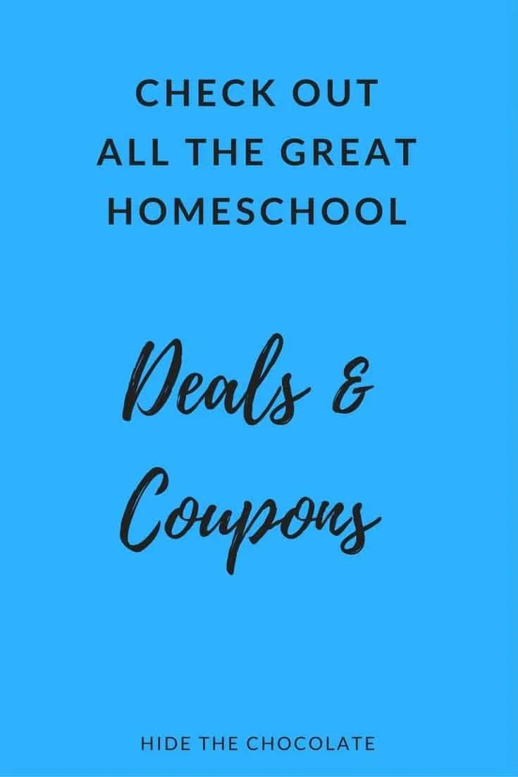 Sales for Homeschoolers