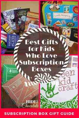 Gifts for Kids Who Love Subscription Boxes PIN