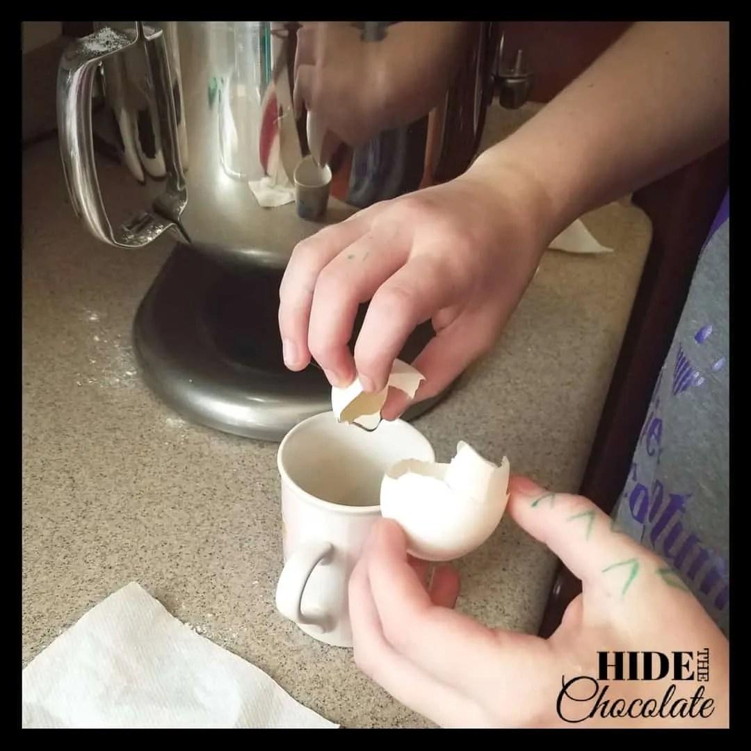 Pryaniki - Flour Mixture + Eggs