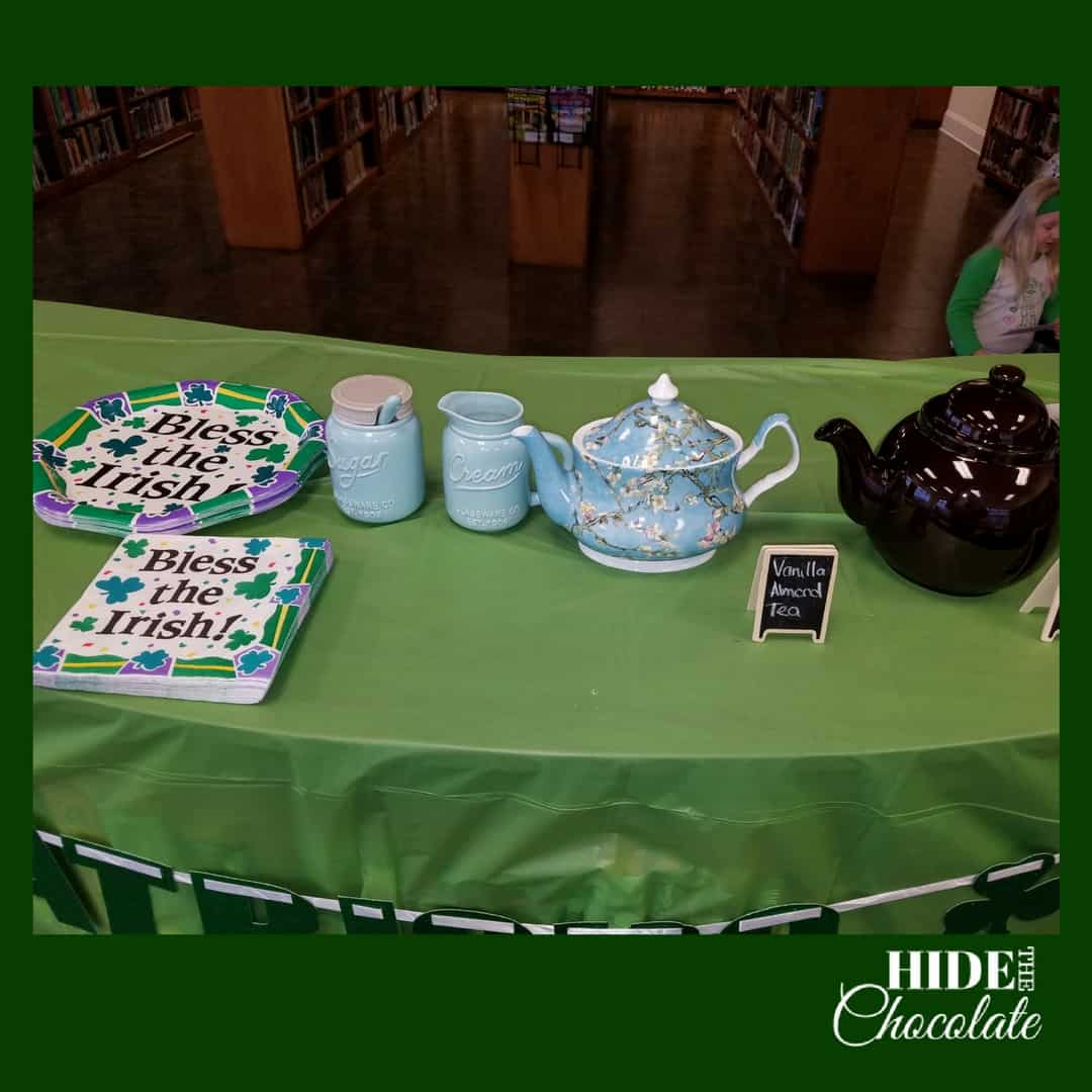 St. Patrick's Day Poetry Teatime Poetry Decorations
