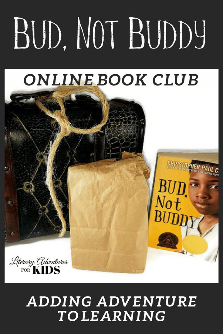 In this course, Bud, Not Buddy Online Book Club for Kids, we will read the book by Christopher Paul Curtis. We will go on rabbit trails of discovery into history, music, slang terms, and find ways to learn by experiencing parts of the book through hands-on activities. We will add a little magic dust you and at the conclusion of the story, we will have a party school that is worth packing for. #onlinebookclub #homeschool #la4k