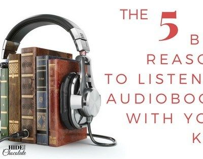 The Five Best Reasons to Listen to Audiobooks with Your Kids