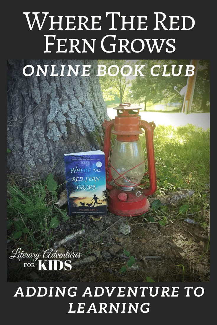 Where the Red Fern Grows Online Book Club for Kids ~ A Novel Adventure