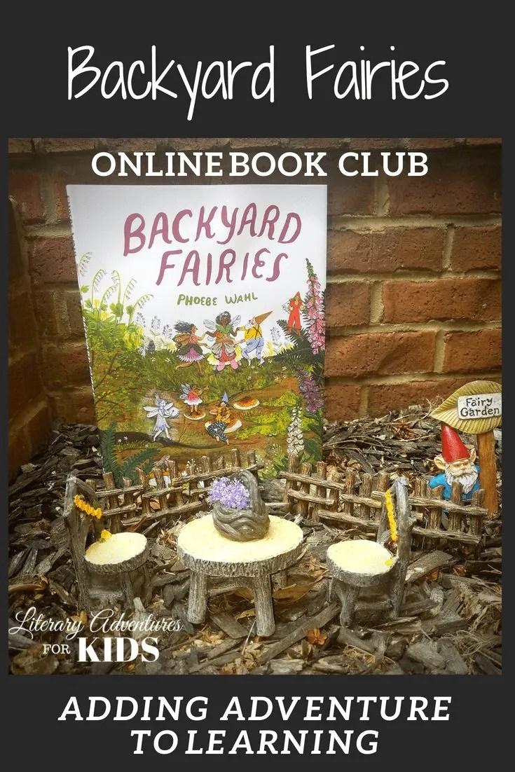 Backyard Fairies Online Book Club for Kids ~ A Nature Adventure