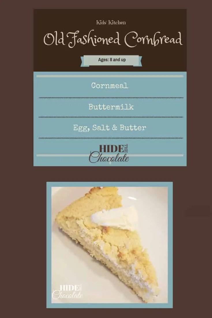 Kids\' Kitchen: Old-Fashioned Cornbread