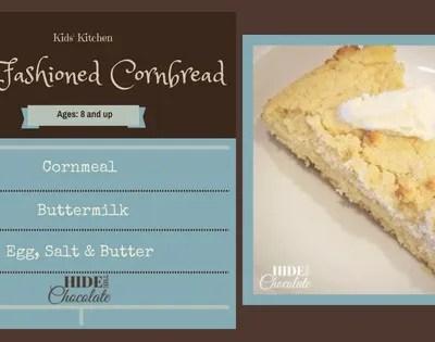 Kids' Kitchen: Old-Fashioned Cornbread