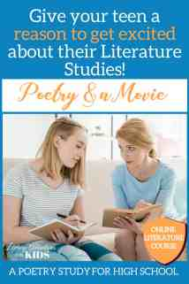Poetry and a Movie Pinterest Landing