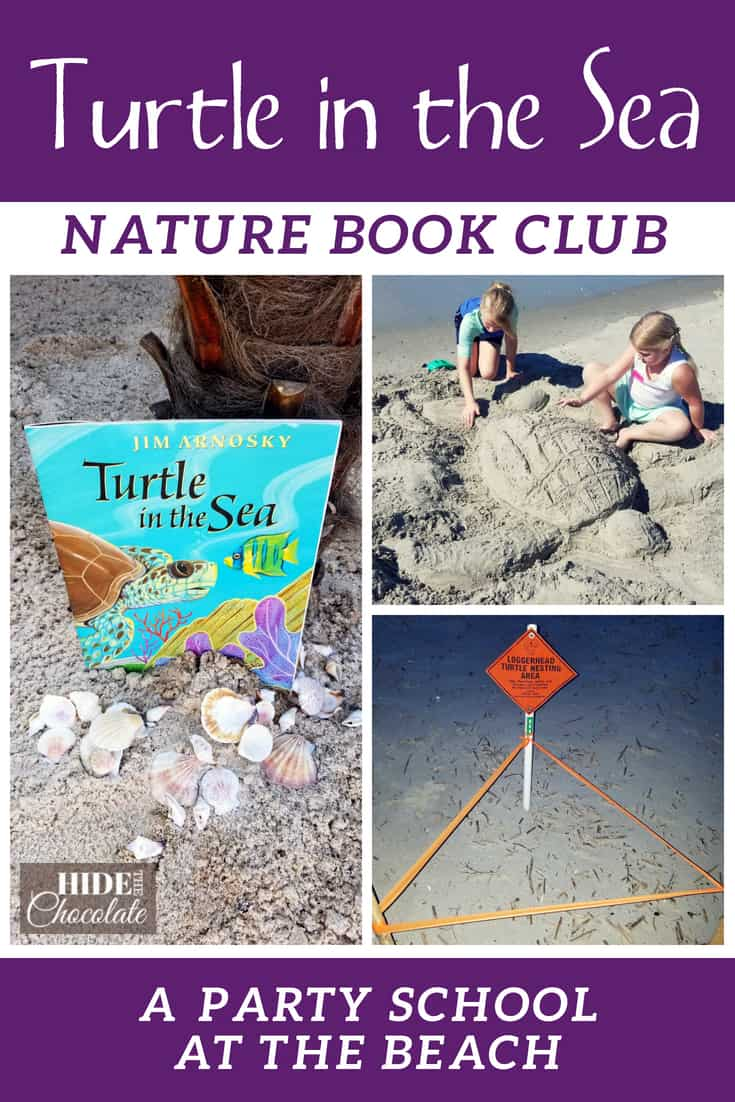 Turtle in the Sea Nature Book Club