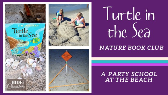 Turtle in the Sea Nature Book Club