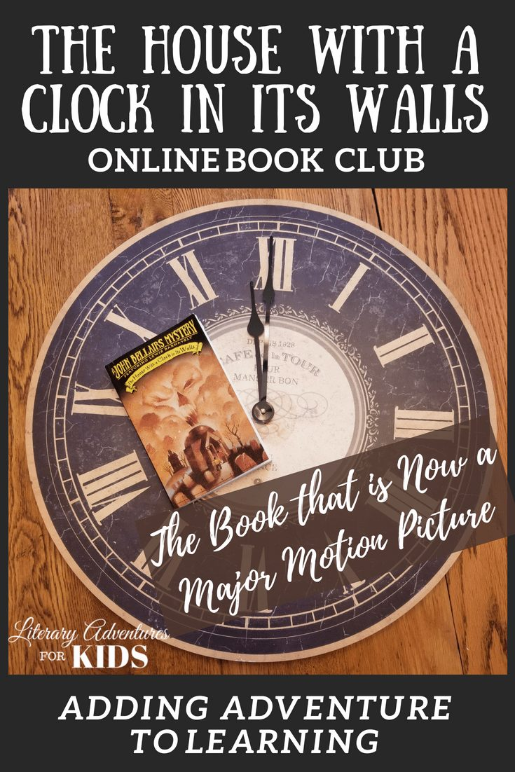 In this course, The House with a Clock in Its Walls Online Book Club, we will read through the book by John Bellairs. As we are reading, we will go on rabbit trails of discovery, experience parts of the book through hands-on activities and have a party school to celebrate the magic of the house. #onlinebookclub #homeschool #la4k