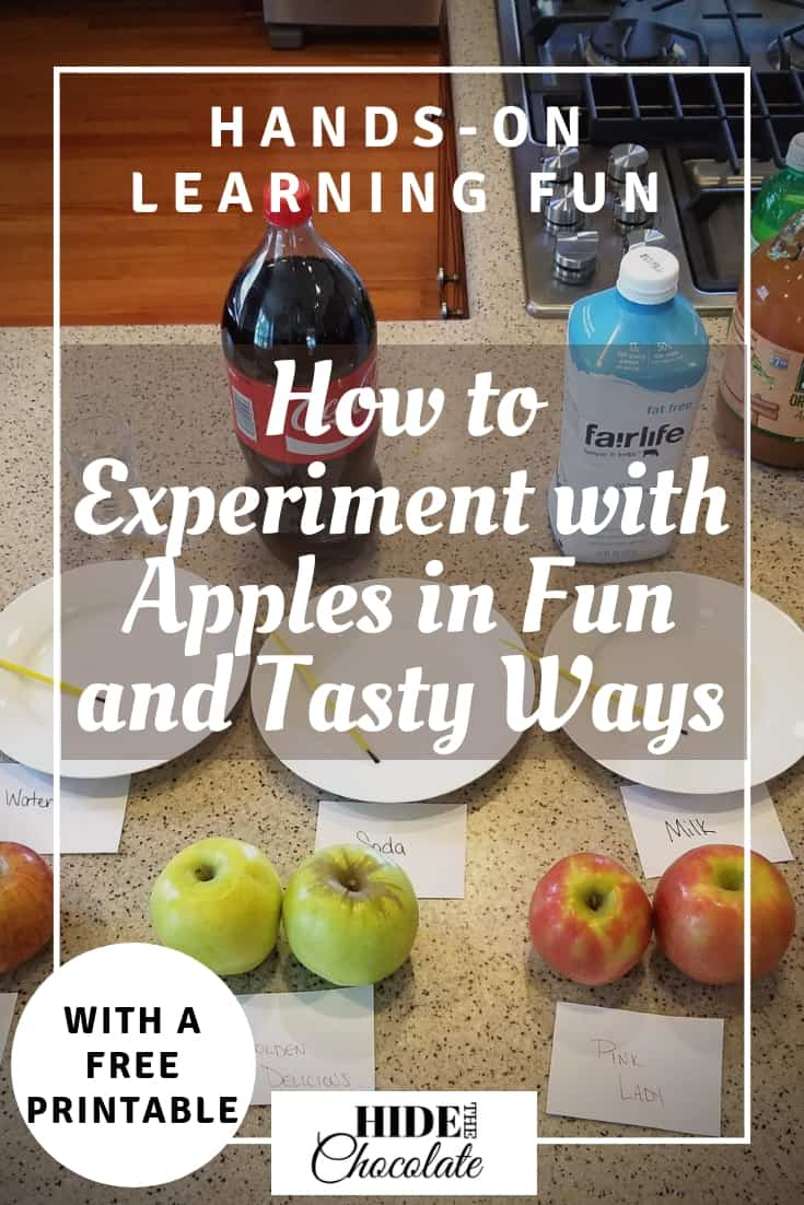 How to Experiment with Apples in Fun and Tasty Ways (and Snag a Free Printable)