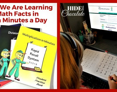 How We Are Learning Math Facts in Ten Minutes a Day ~ A Rapid Recall Review