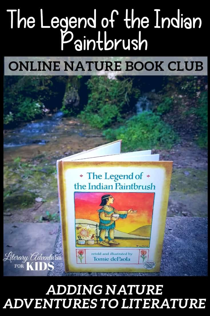 The Legend of the Indian Paintbrush Online Book Club for Kids ~ A Nature Adventure
