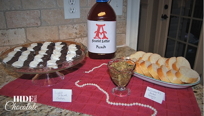 The Scarlet Letter Table