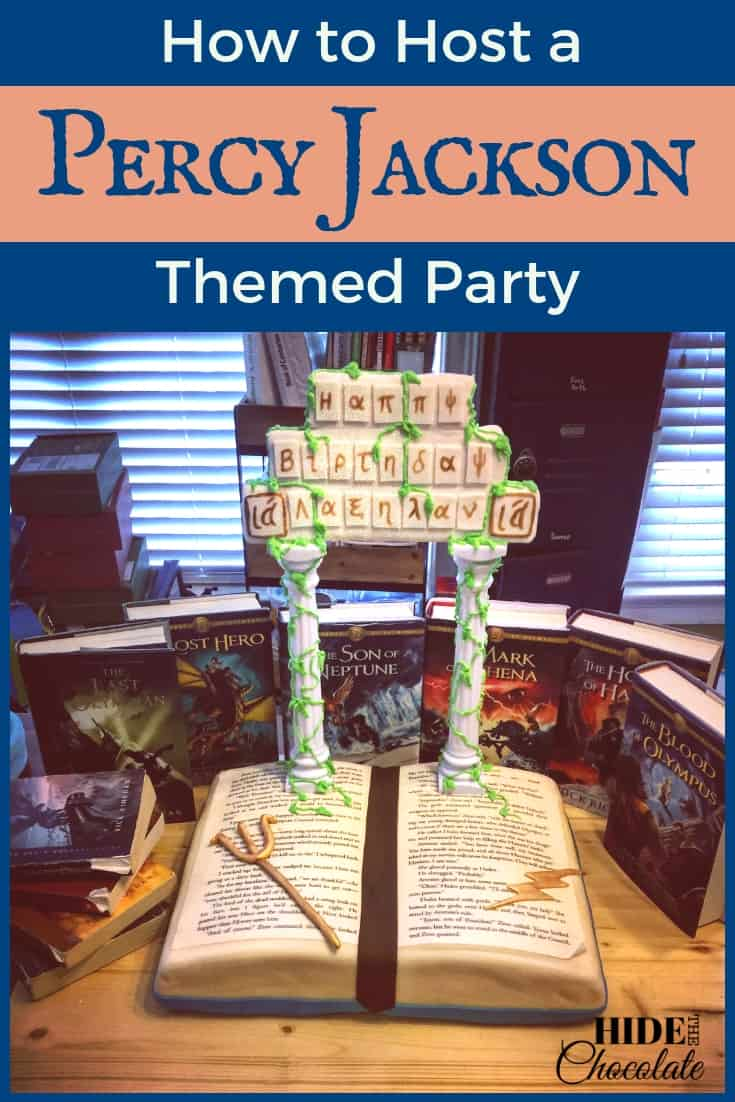 How to Host a Percy Jackson Themed Party PIN