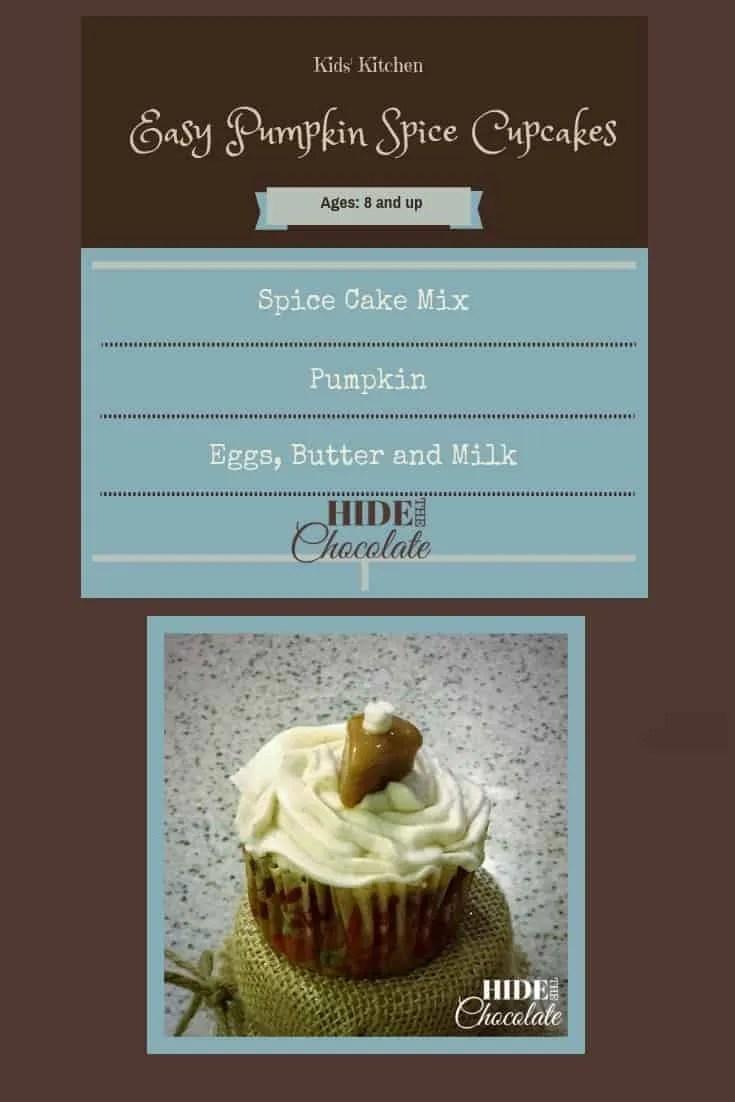 Kids\' Kitchen: Easy Pumpkin Spice Cupcakes