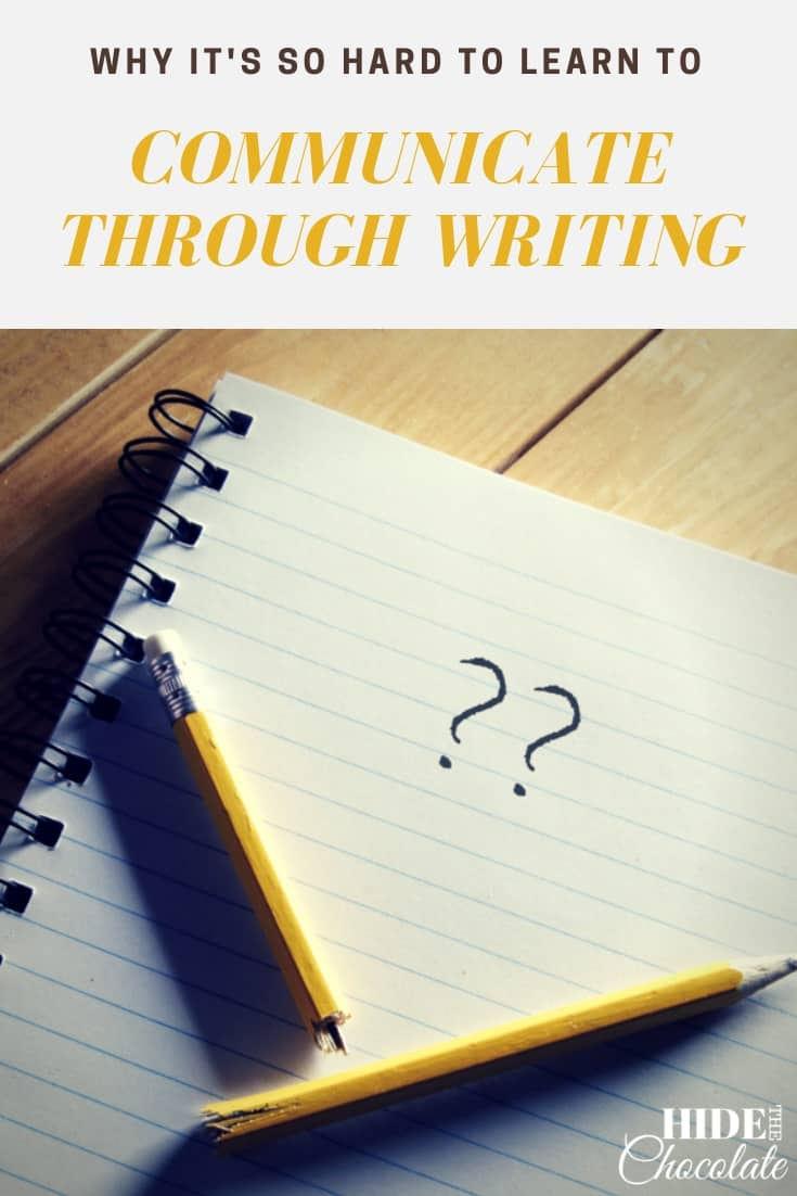 Discover why it's so hard to teach our kids to communicate through writing and some simple ways to help them express themselves.  #homeschool #bravewriterlifestyle