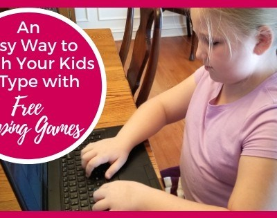 An Easy Way to Teach Your Kids to Type with Free Typing Games Featured