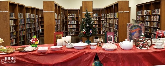 Christmas Poetry Teatime - Decorations