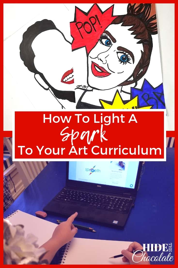 How To Light A Spark To Your Art Curriculum