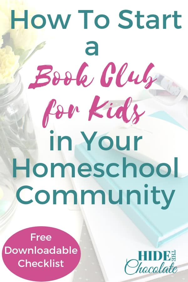 How To Start a Book Club for Kids in Your Homeschool Community