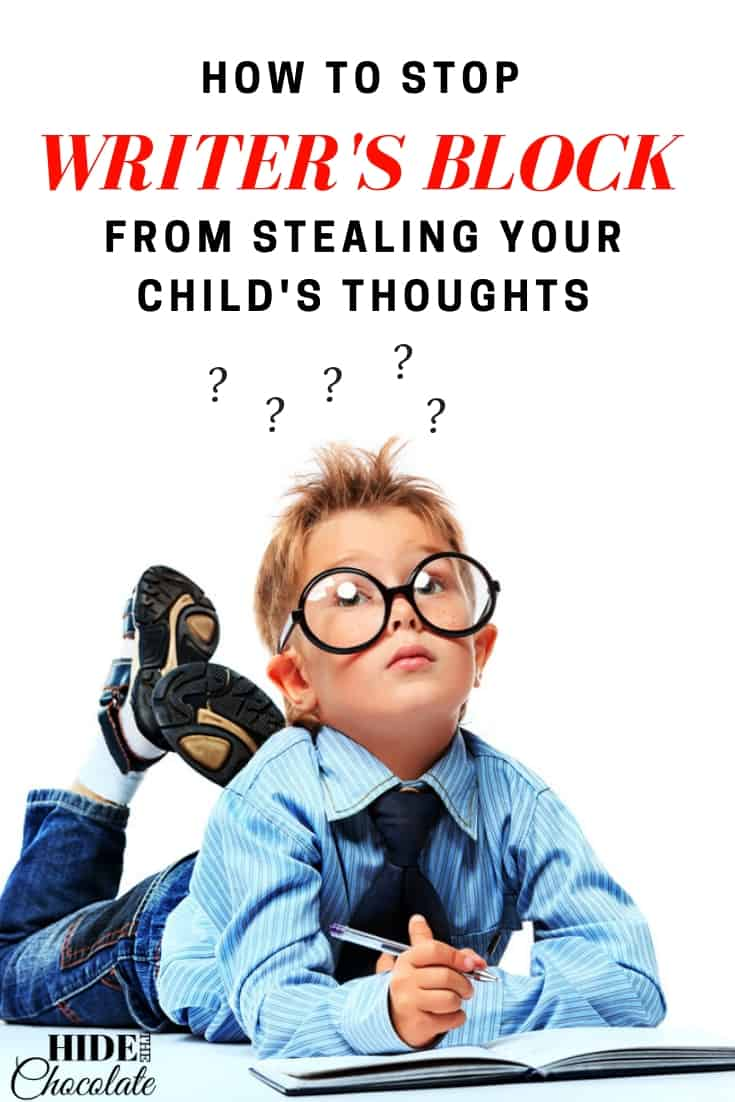 How to Stop Writer's Block From Stealing Your Child's Thoughts
