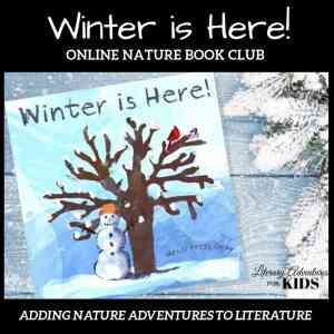 Winter is Here Online Nature Book Club Square