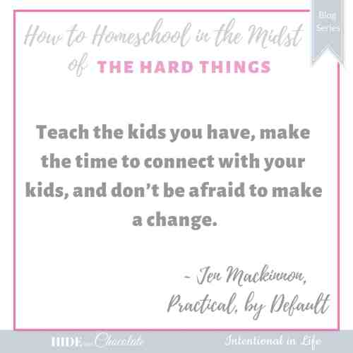 How to Homeschool in the Midst of Hospital Visits Quote