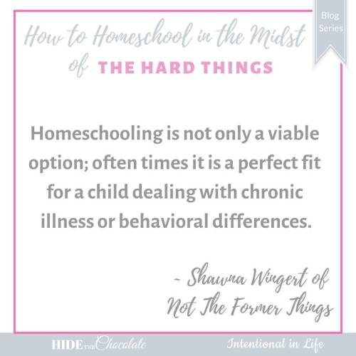 How to Homeschool in the Midst of Receiving Your Child's Diagnosis - Quote
